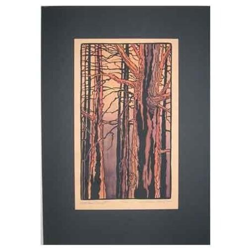 Woodland Sunset Print