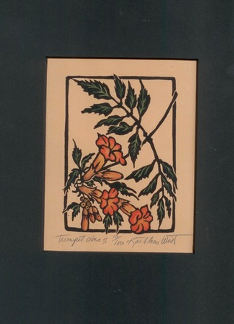 Trumpet Vine II Print