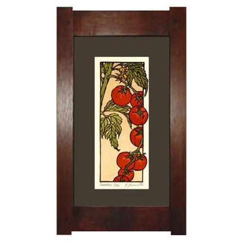 Framed Cherry Tomatoes Print