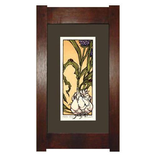 Framed Garlic Print