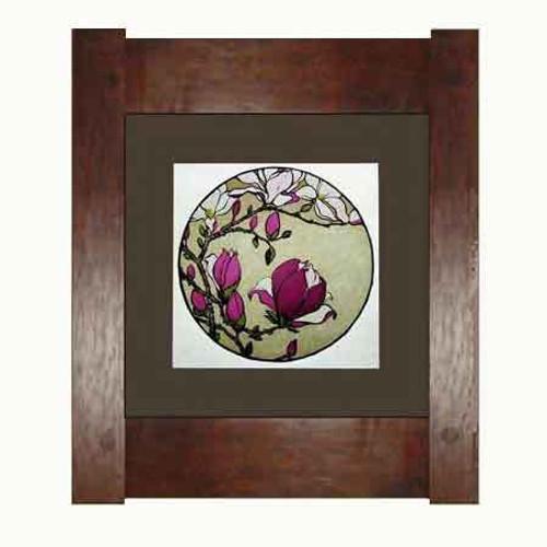 Framed Magnolia Print