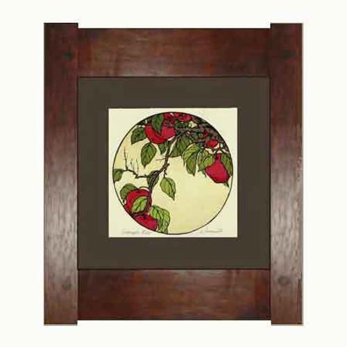 Framed Crabapple Print