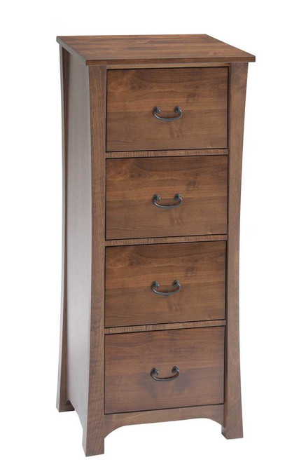 Woodland 4 Drawer File Cabinet