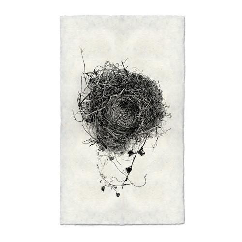 Bird Nest Study Print #3
