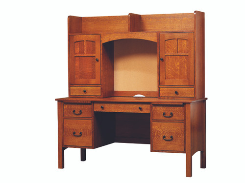Rivertown desk and Hutch Top