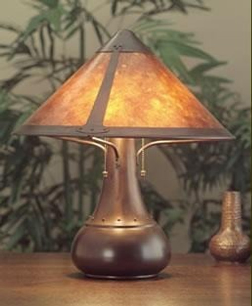 The Mica Lamp Company Large Onion Lamp ML013
