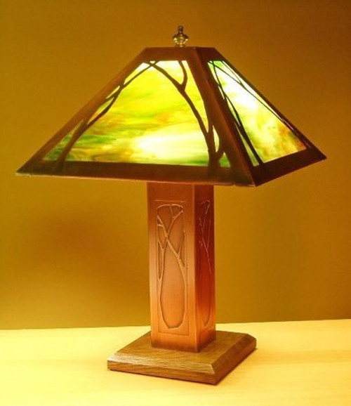 Table Lamp - Art Nouveau Design