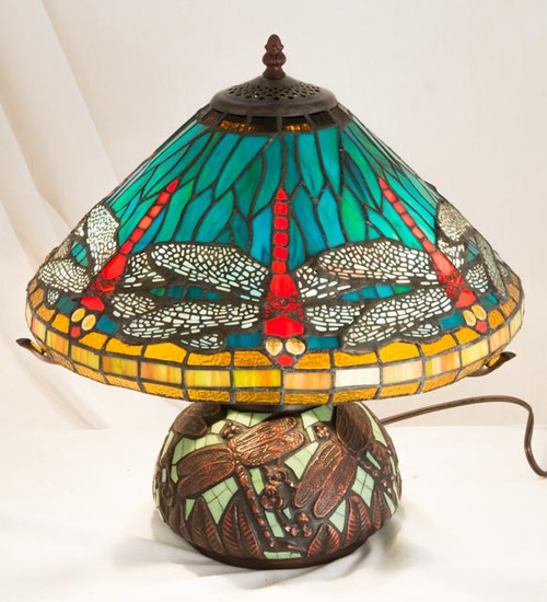 Mosaic Dragonfly Table Lamp 27159-M (