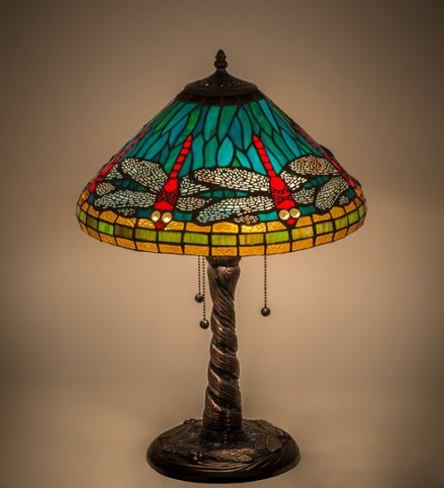 Dragonfly Cone Table Lamp 26682-M