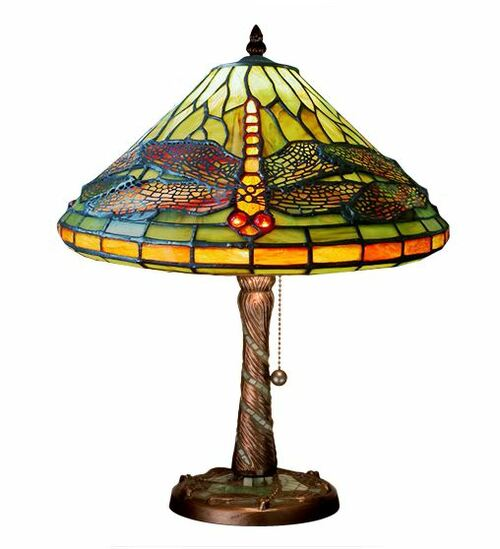 Dragonfly Cone Accent Lamp 27158-M
