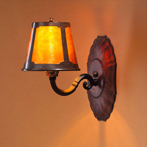 The Mica Lamp Company Mica Wall Lamp Sconce ML122