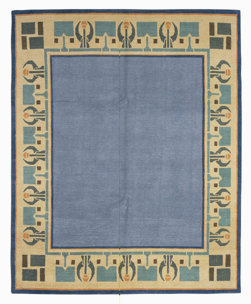 Craftsman Arrowroot Blue Sky Rug