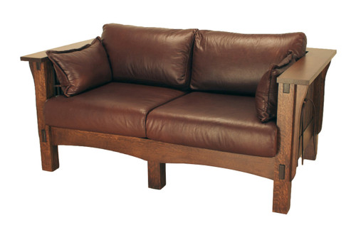 American Mission Spindle Loveseat AMW-1103