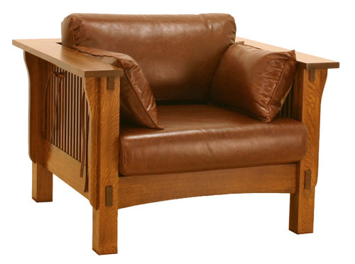 American Mission Spindle Sofa Chair