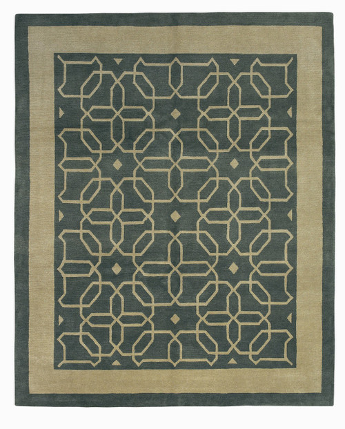 Craftsman Honeycomb Boxwood Rug CC-38