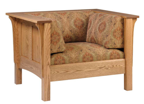 The Shaker Panel low Sofa Chair 16-QF-00