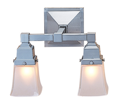Ruskin Two Light Sconce with Art Glass Shades RS-2