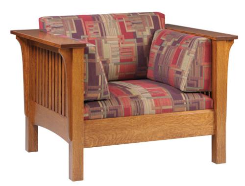Mission Slat High Sofa Chair 18-QF-75
