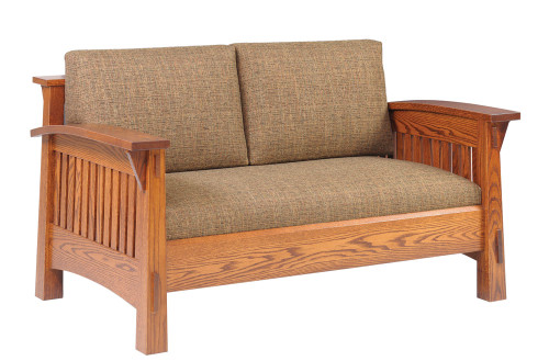 The Coventry Mission Love Seat 45-QF-75
