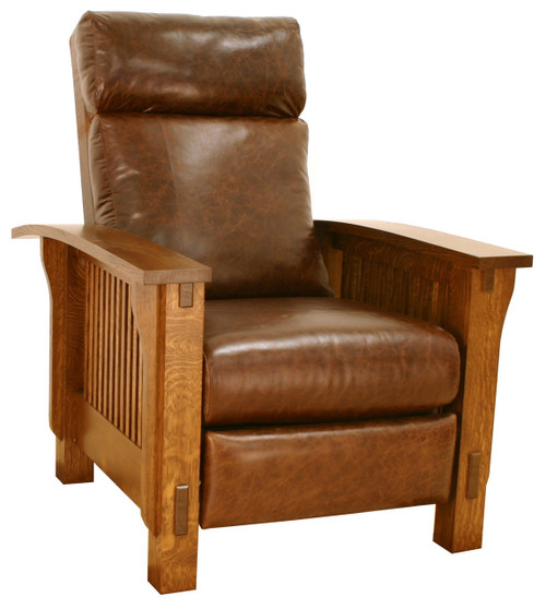 sc 1 st  Mission Motif & American Mission Spindle Morris Recliner AMW-1603