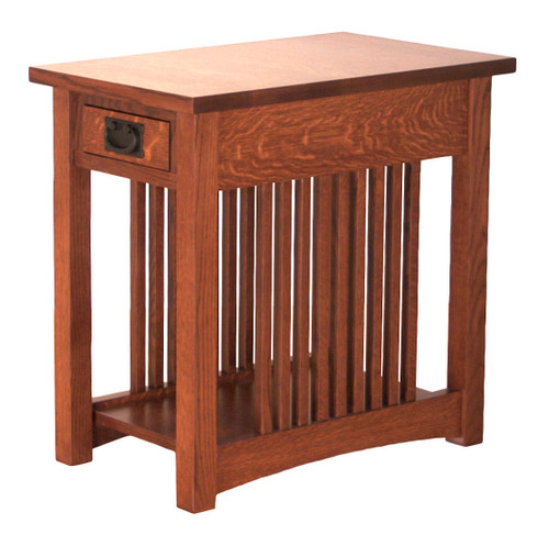 "American Mission 16"" x 26"" End Table"