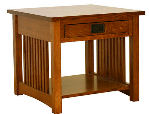 """American Mission 25"""" x 25"""" End Table AMW-2525"""