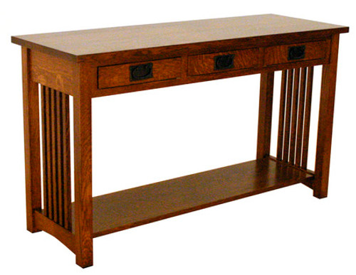 "American Mission 50"" Sofa Table  8X-1008-TC"