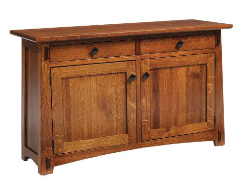 Olde Shaker Panel Sofa Table 56-QF-00