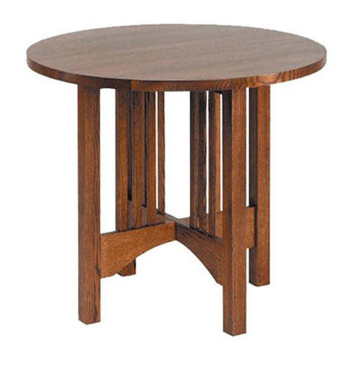"American Mission 26"" Round Table"