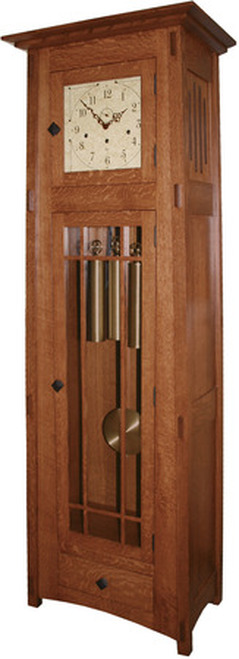 McCoy Mission Mechanical Grandfather Clock #607-BH