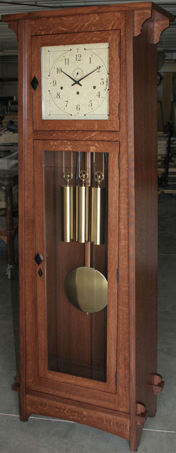Bungalow Mission Grandfather Clock #610-BH