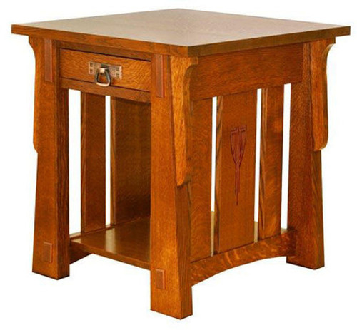 "Aurora 29"" x 25"" End Table ACW-2925"