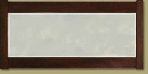 Oak Mantel Mirror