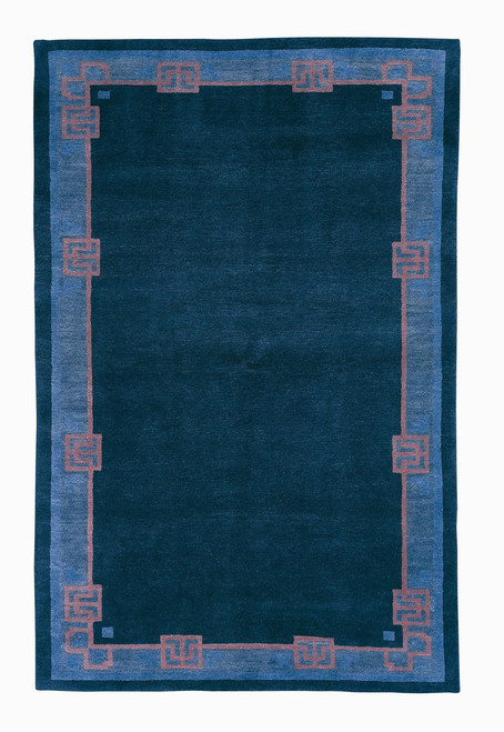 Craftsman Bungalow Cadet Blue Rug