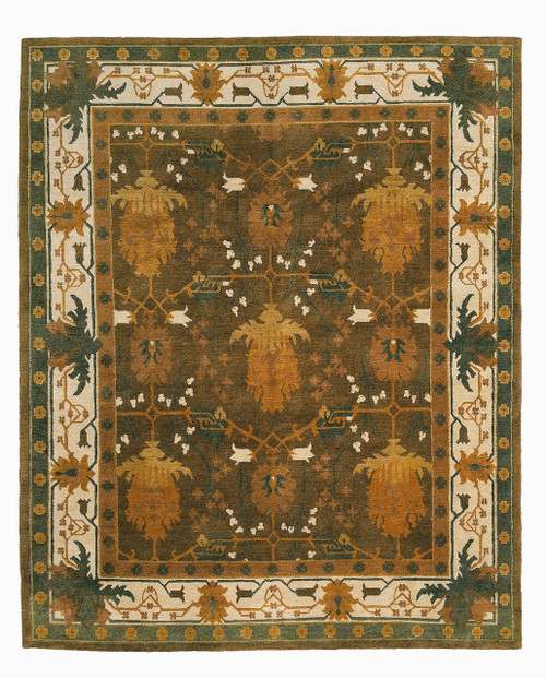 Craftsman Donegal Killybegs Cocoa Rug