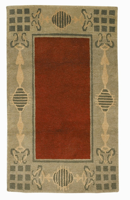 Craftsman Glasgow Ruby Rug