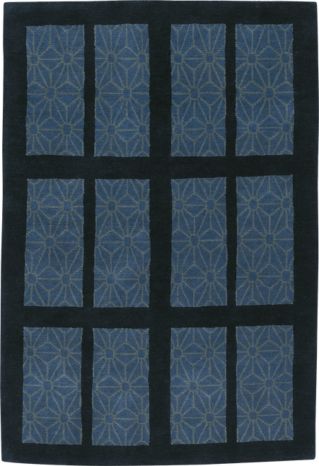Craftsman Stained Glass Ocean Rug