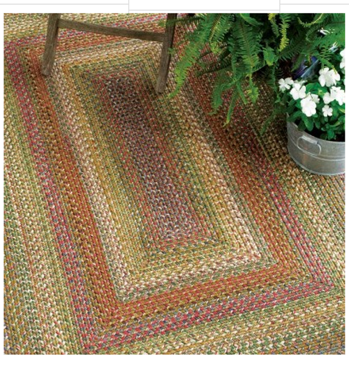 Rain Forest Ultra Durable Rug