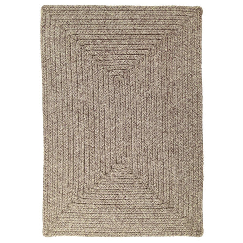 Slate Outdoor Braided Rug