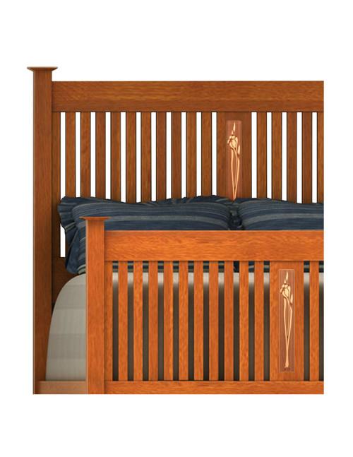 Mackilligin Bed with Inlays