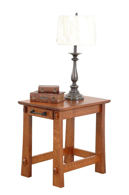 """Ventura 18""""W Arts and Crafts end Table"""