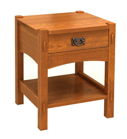 Mount Mitchell 1 drawer nightstand