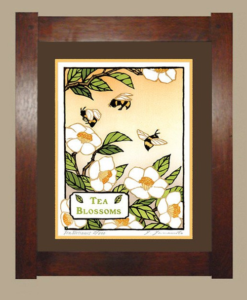 Framed Tea Blossom Print