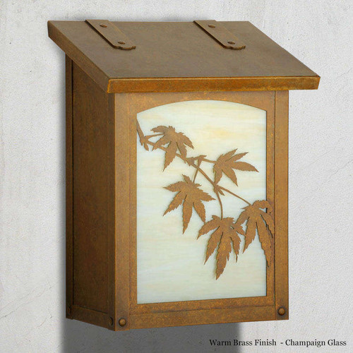 Japanese Maple Vertical Mailbox
