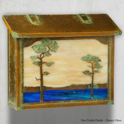 Monterey Pine Large Mailbox