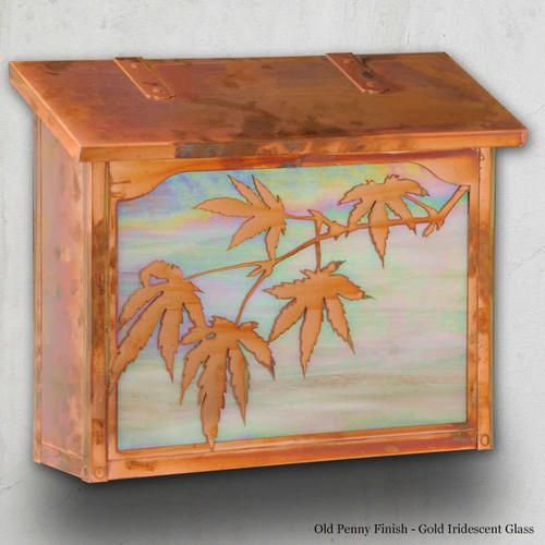 Japanese Maple Large Mailbox