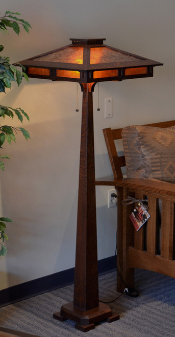 Craftsman Prairie Floor Lamp