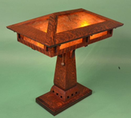 Craftsman Prairie Desk Lamp