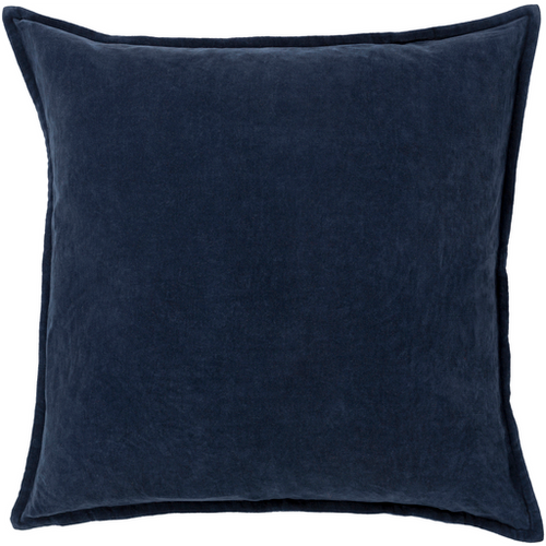 Charcoal Velvet Pillow