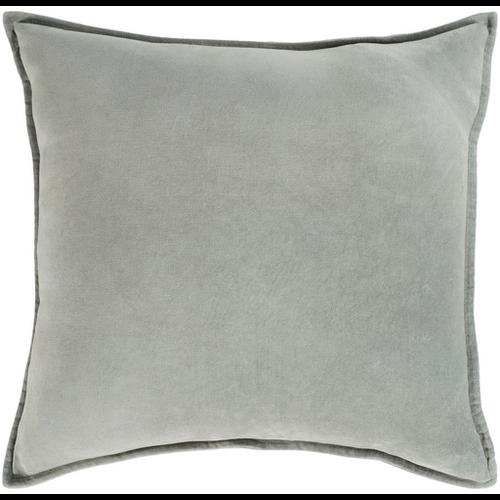 Sea Foam Velvet Pillow